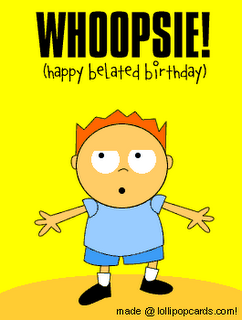 Happy Belated Birthday Images Google Search Belated Birthday