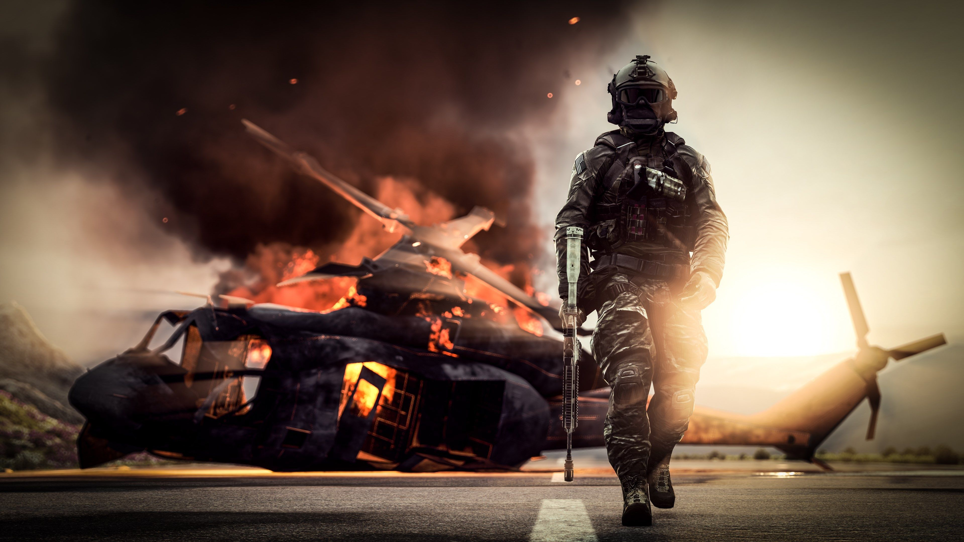 3840x2160 Battlefield 4 4k Hd Background Wallpaper Free Download In 2020 Battlefield 4 Battlefield Solider