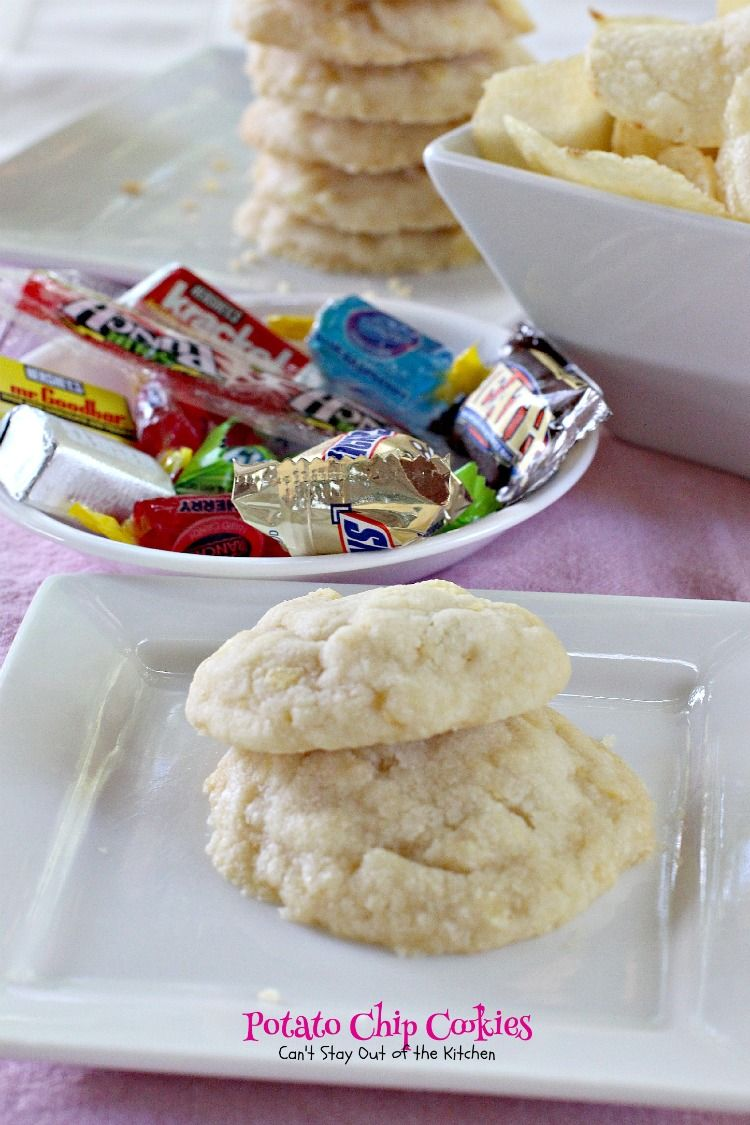 Potato Chip Cookies - Can't Stay Out Of The Kitchen
