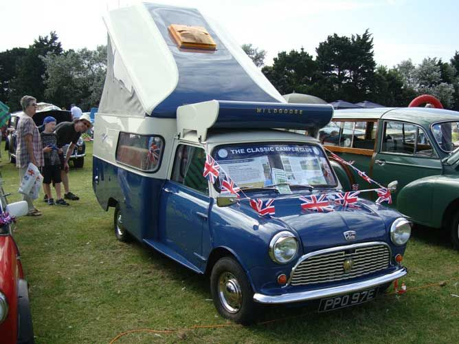 A 1967 Mini Wild Goose Camper Only 62 Ever Built This Is One Of Only