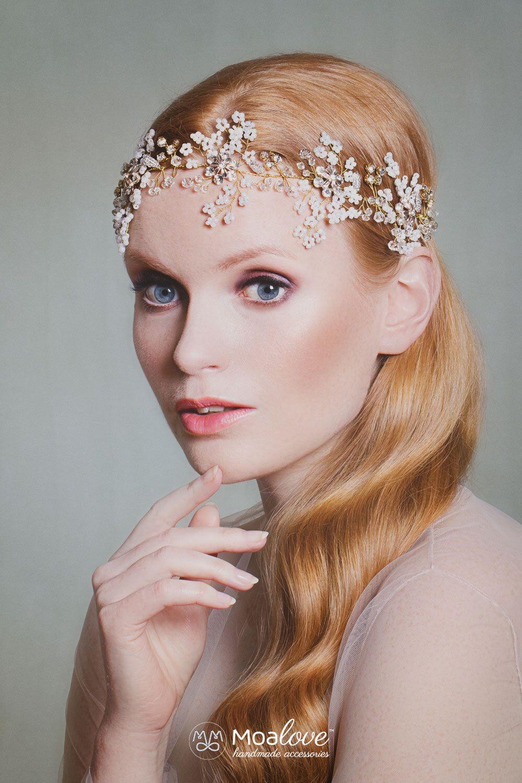 bridal headpiece | wedding hair accessory | bridal adornment