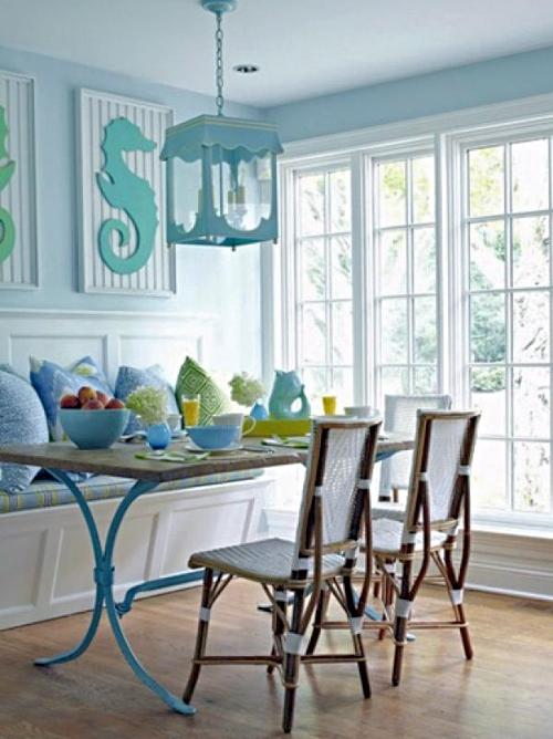 19 Coastal Designer Dining Rooms Beach House Interior Design