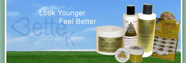 Welcome to Bette K's New People Products!