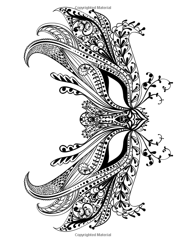 Adult Coloring Book: Butterflies and Flowers : Stress ...