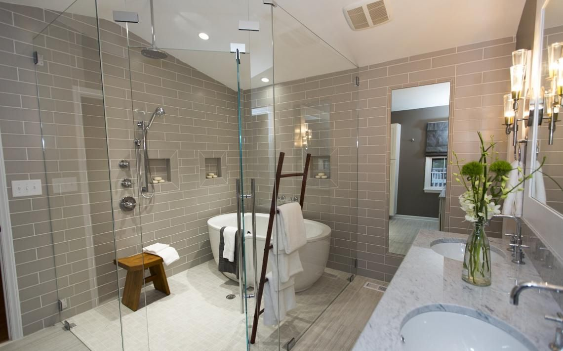 From Love It or List It This. Bathroom. Is. AMAZING