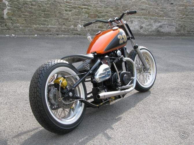 bobber yamaha xs 650 motors engine pinterest moto deco moto et voitures. Black Bedroom Furniture Sets. Home Design Ideas