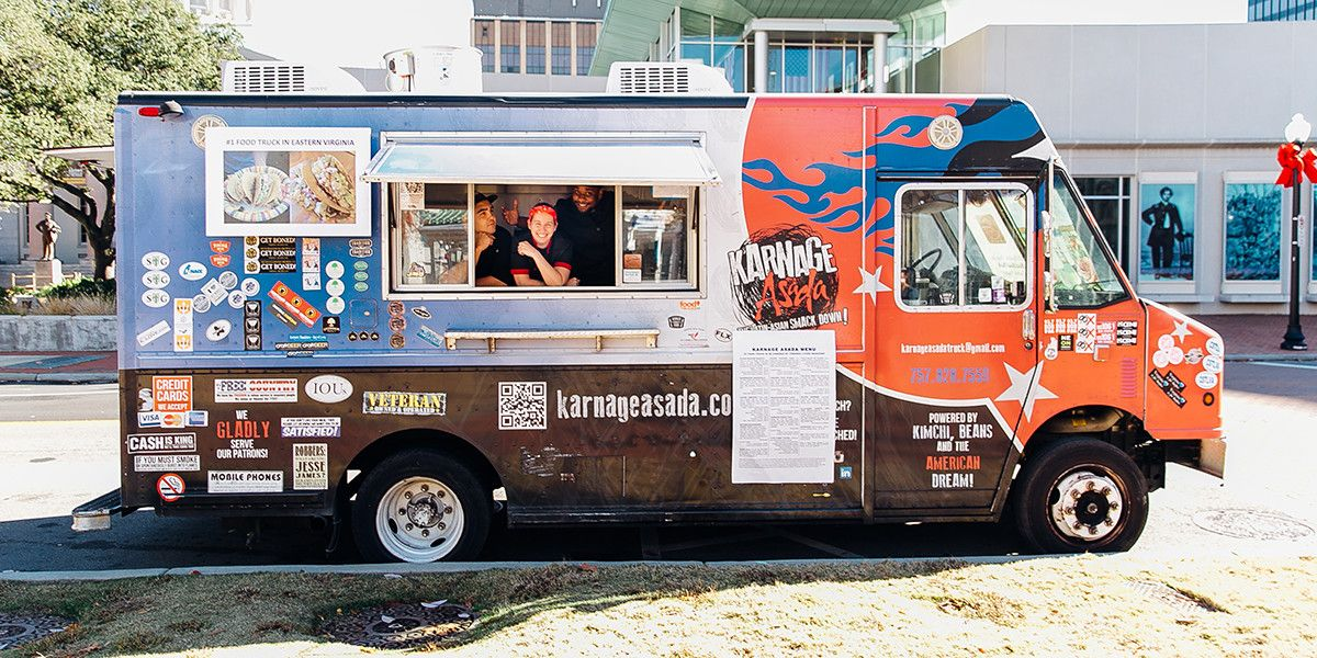 Hampton Roads And Eastern Virginia S 1 Food Truck Karnage Asada Food Truck Show Food Truck Design Food Truck