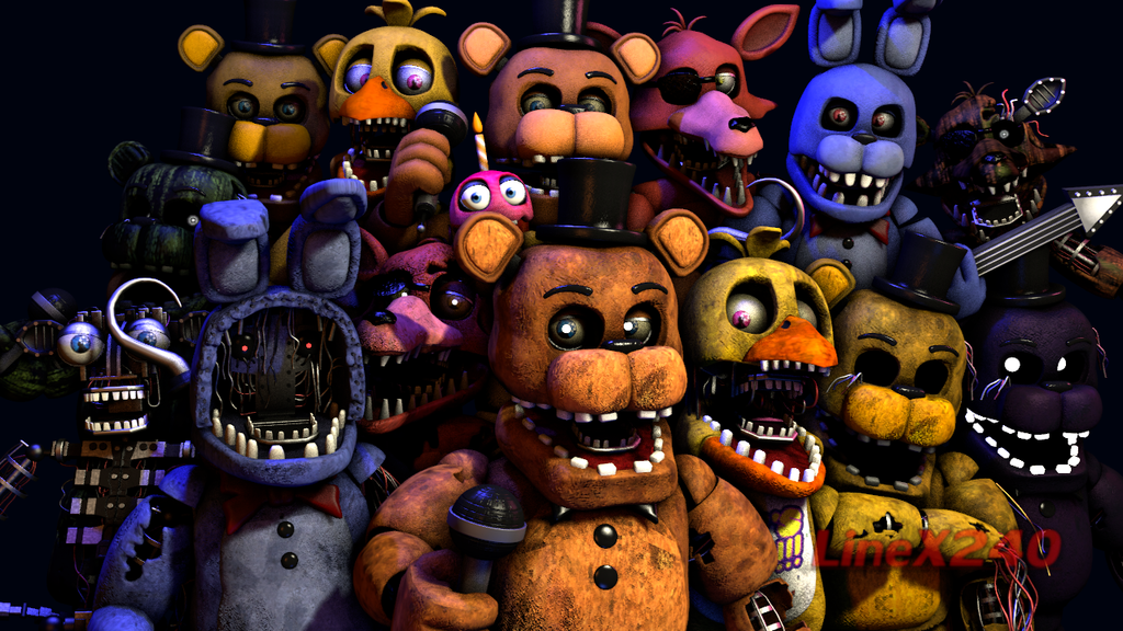SFM FNAF] Withereds Models By CoolioArt by LineX240 | Five