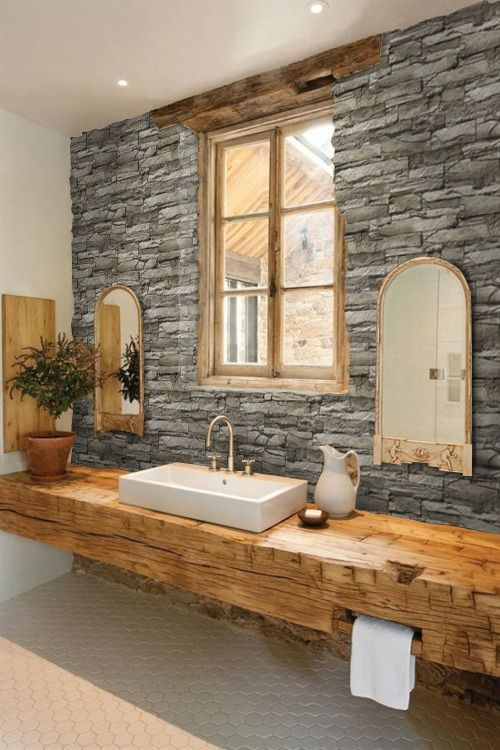Photo of BuildDirect®: Von Ailesbury Ailesbury hergestellter Stein – American Frontier Ledge Stone