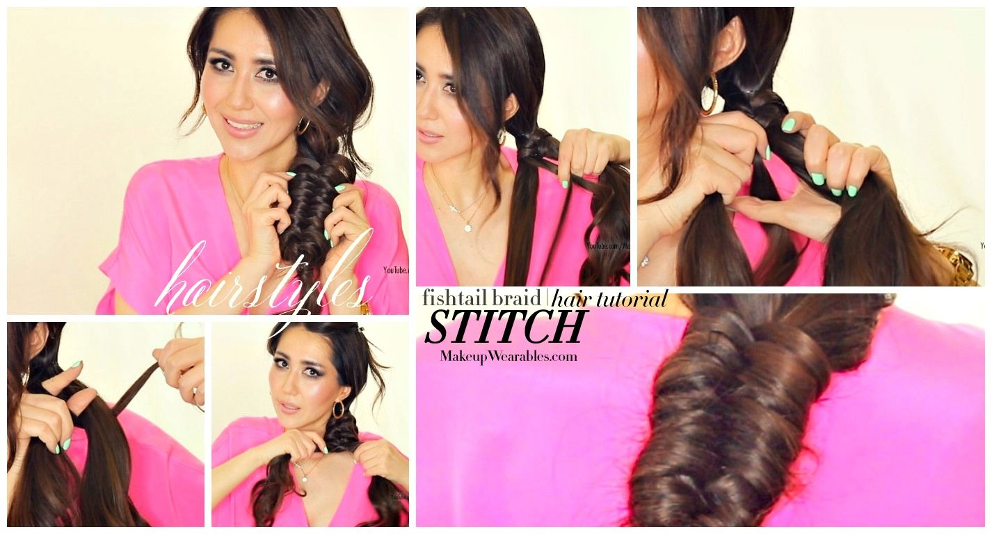 Everyday fishtail braids hairstyles for teenagers school work prom ...