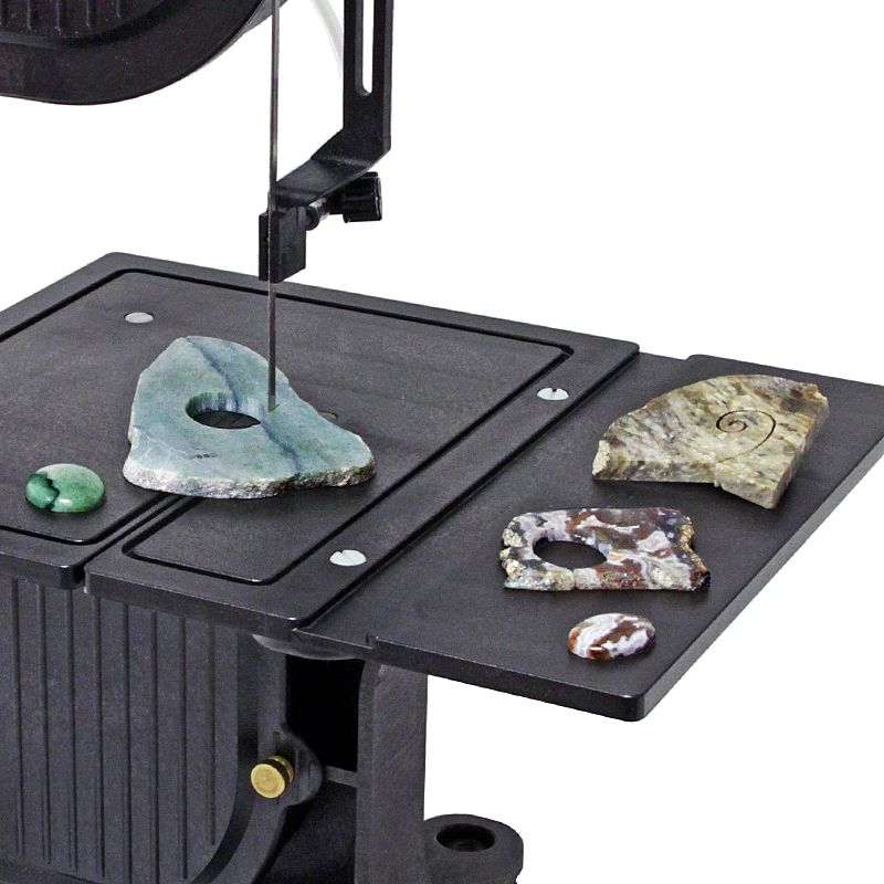 Db 100 Band Saw With Diamond Blade In 2020 Bandsaw Lapidary Tools 100 Bands