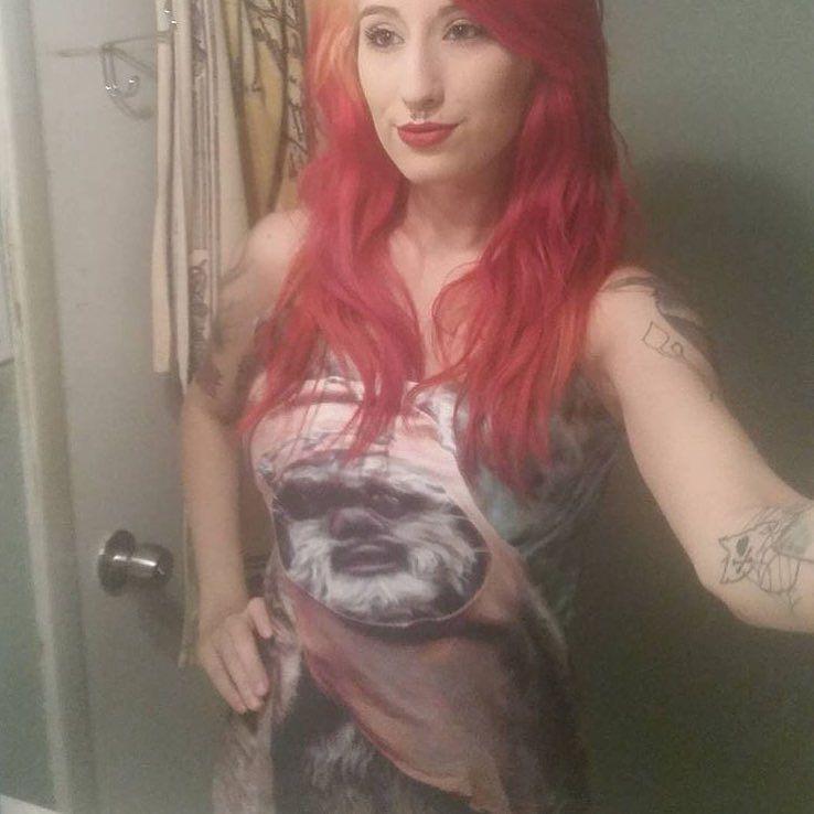 @melaniestrttn in her Wicket dress by force_girls