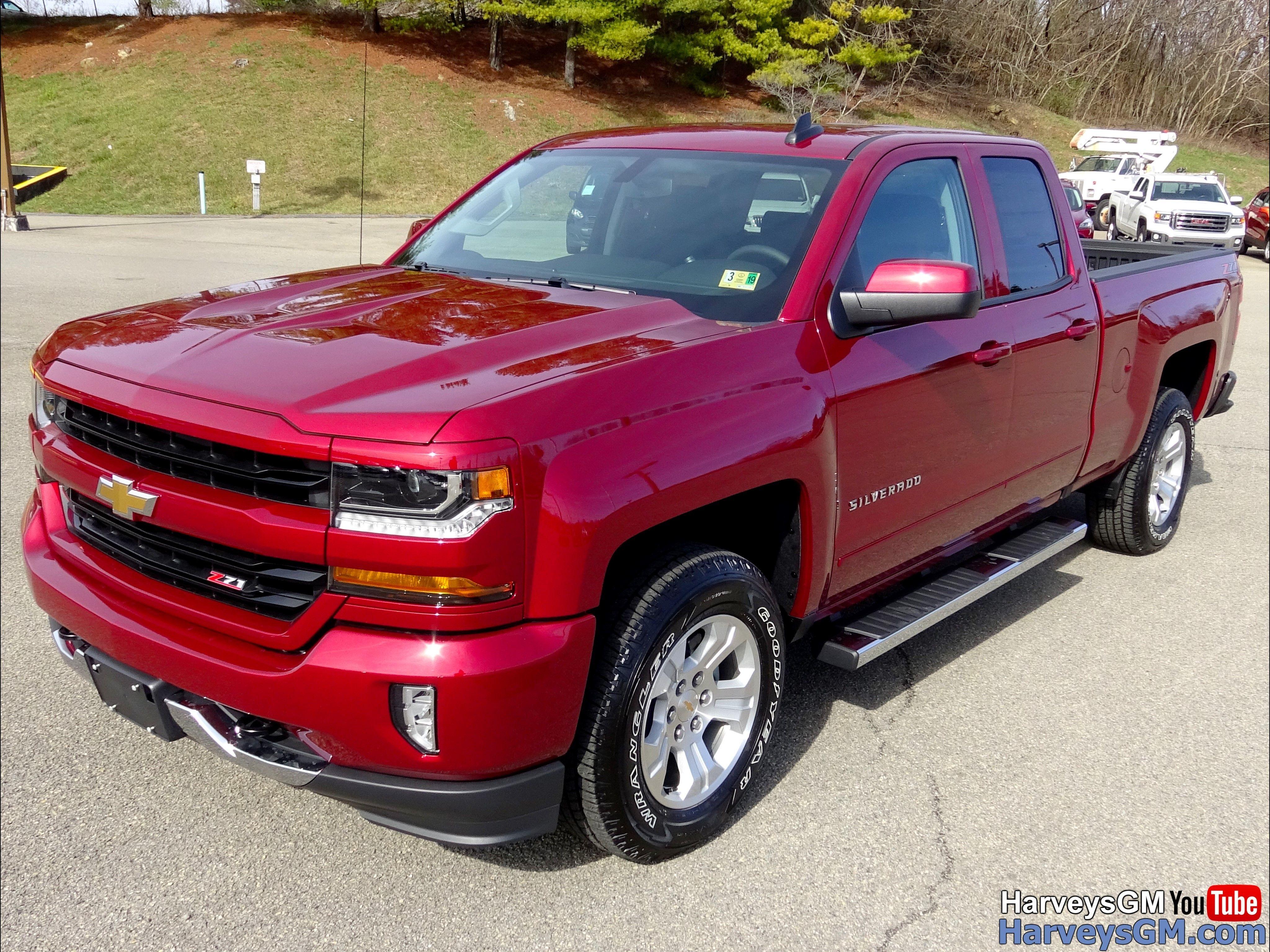 Chevy Silverado 1500 4wd Lt Dbl 2018 Cajun Red Truck Chevy