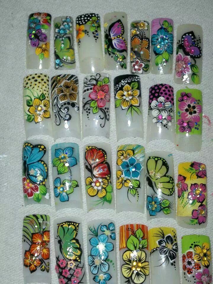 Pin de Liz Segovia en liz segovia | Pinterest | Diseños de uñas ...