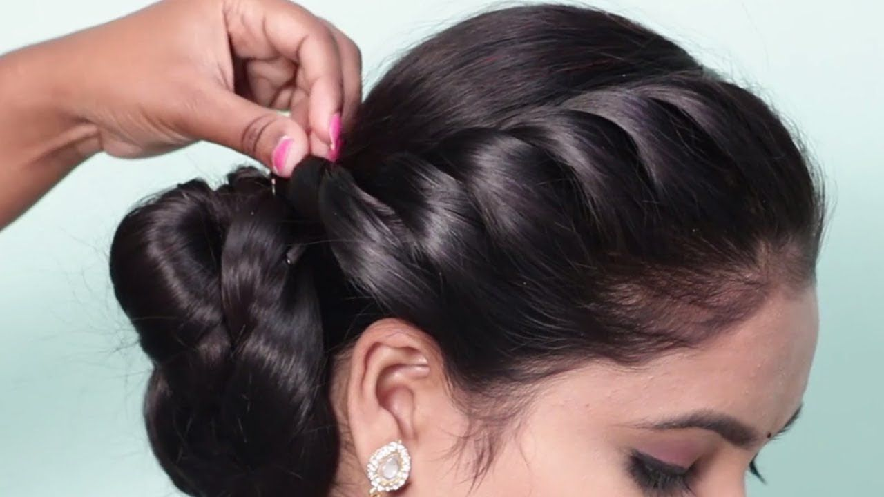 How To Do Side Braid Hairstyle 2019 For Ladies New Hairstyles For Wedding Party Hairstyle Girl Easy Hairstyles Girl Hairstyles Party Hairstyles For Girls