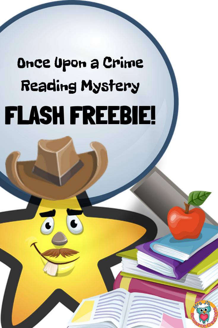 Reading Comprehension Mystery FLASH FREEBIE!