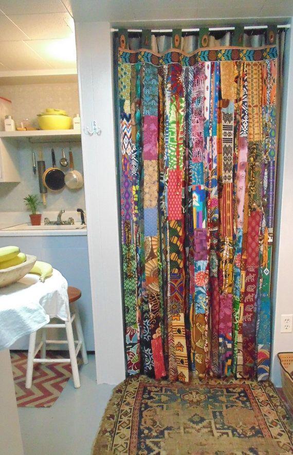 Beau Bohemian Door Curtain DIY Style For Doorway By TheSleepyArmadillo  Www.thesleepyarmadillo.com