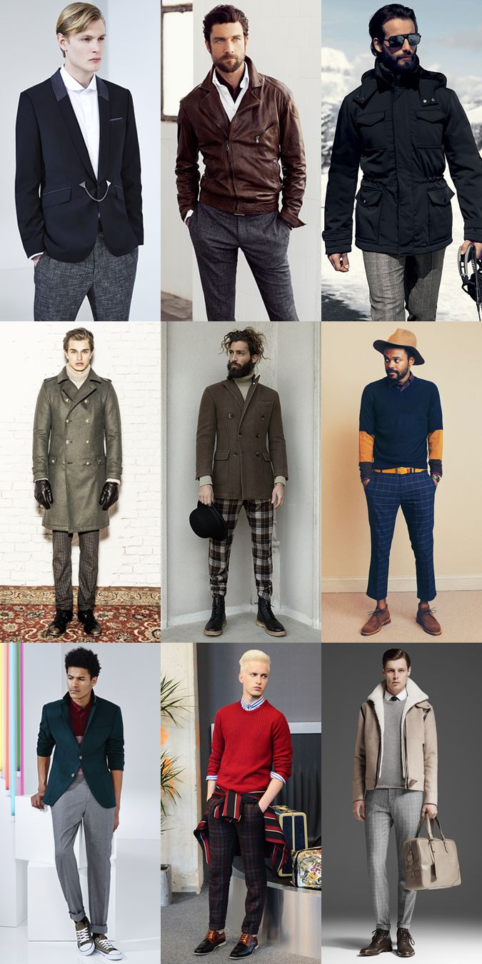 e596e9a3b4 Men's Patterned Winter Trousers Lookbook | Looks - Guides in 2019 ...