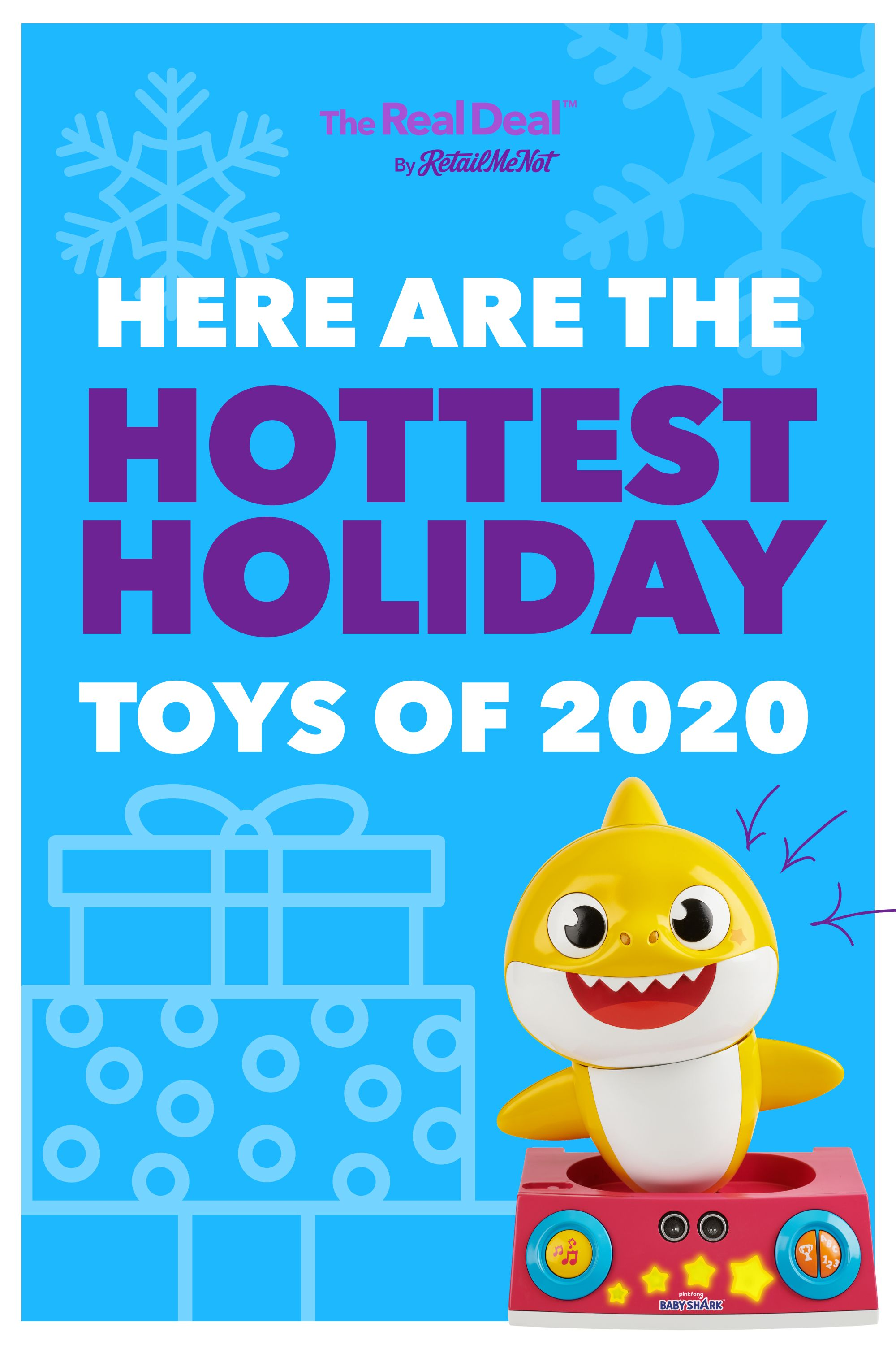 The Ultimate List Of 2020 Hot Holiday Toy Predictions By Retailmenot In 2020 Holiday Toys Cool Toys For Boys Kids Toy Gifts