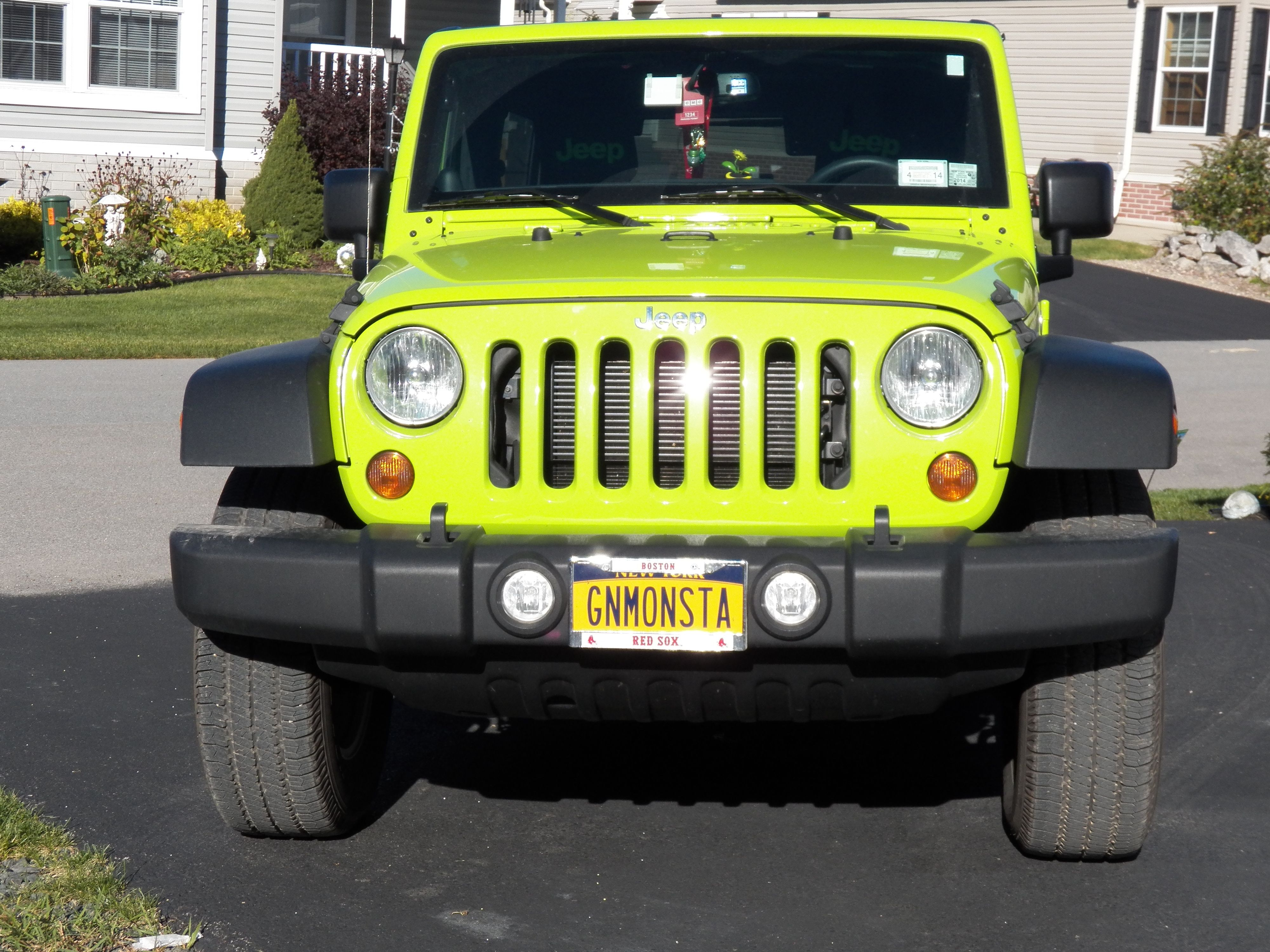 Titled I Am A Boston Redsox Fan Living In Ny And This Is My Jeep