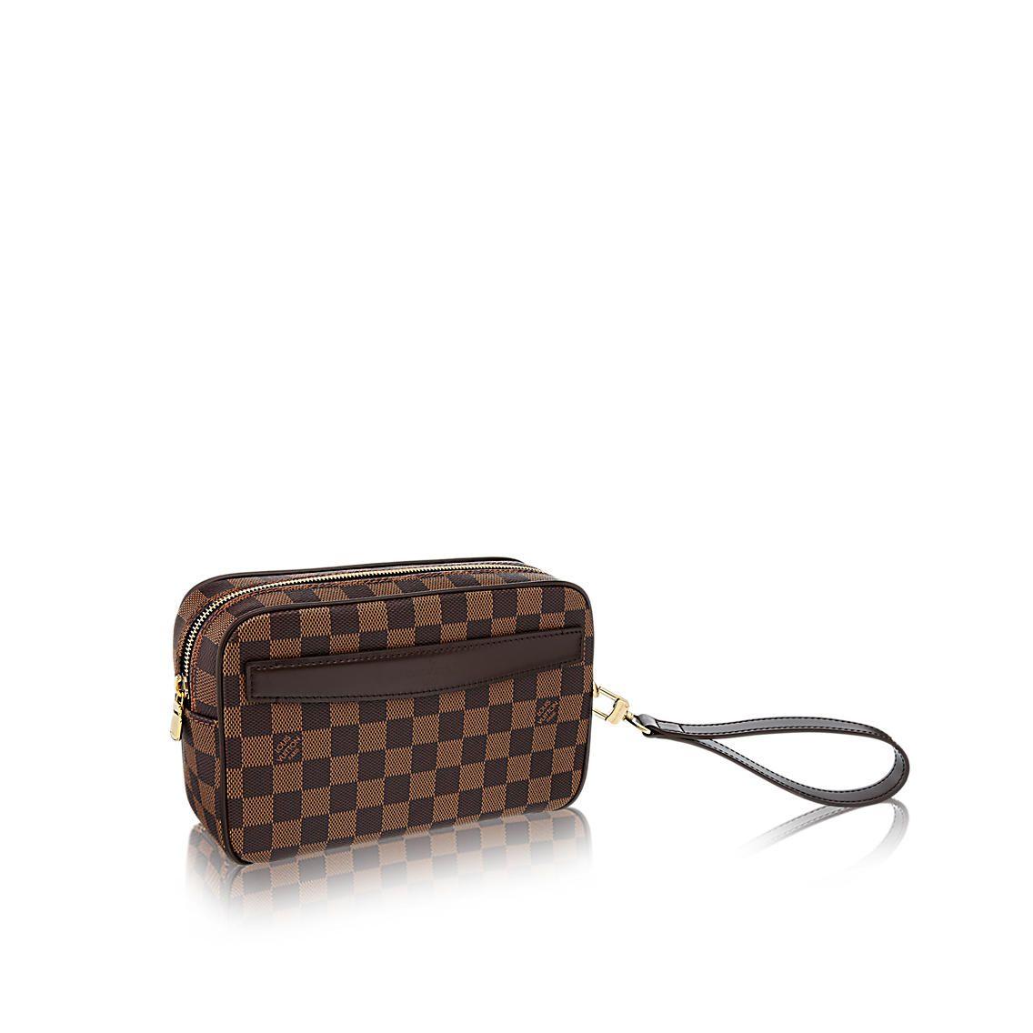 Products By Louis Vuitton Saint Paul Clutch Mens Designer Bag Louis Vuitton Mens Leather Bag