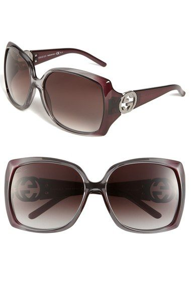 3db8774e9f7a5 Gucci Oversized Sunglasses available at  Nordstrom Óculos Gucci