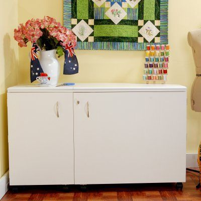 Kangaroo Kabinets Aussie Sewing Cabinet with lift ...