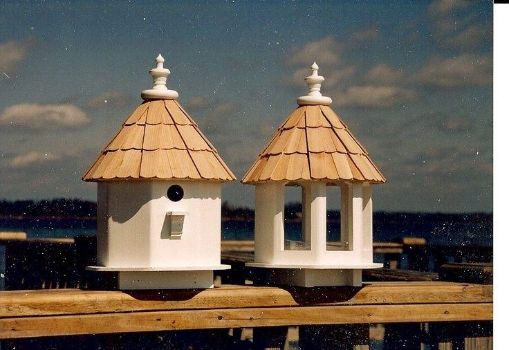fancy Wooden Bird House Plans | victorian bird house painted bird houses wood birdhouse rustic may 12 ...