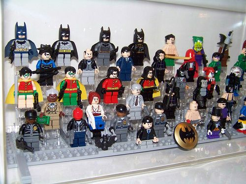 LEGO - Batman Collection (right angle) (OLD DISPLAY) | Lego batman ...