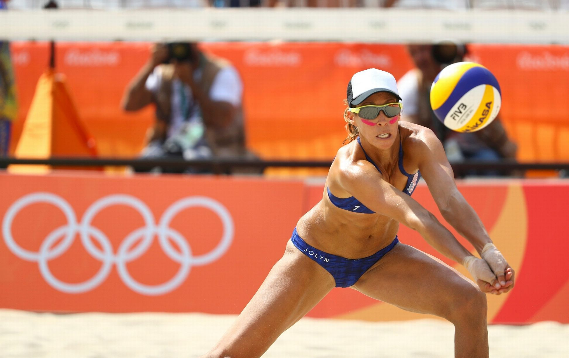 Is This The Best Dressed Female Volleyball Player At The Rio Olympics Olympic Volleyball Rio Olympics 2016 Female Volleyball Players