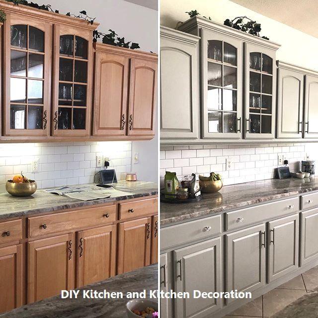 Cozy Home Interior DIY Kitchen Remodel Ideas #kitchenideas #kitchen.Cozy Home Interior  DIY Kitchen