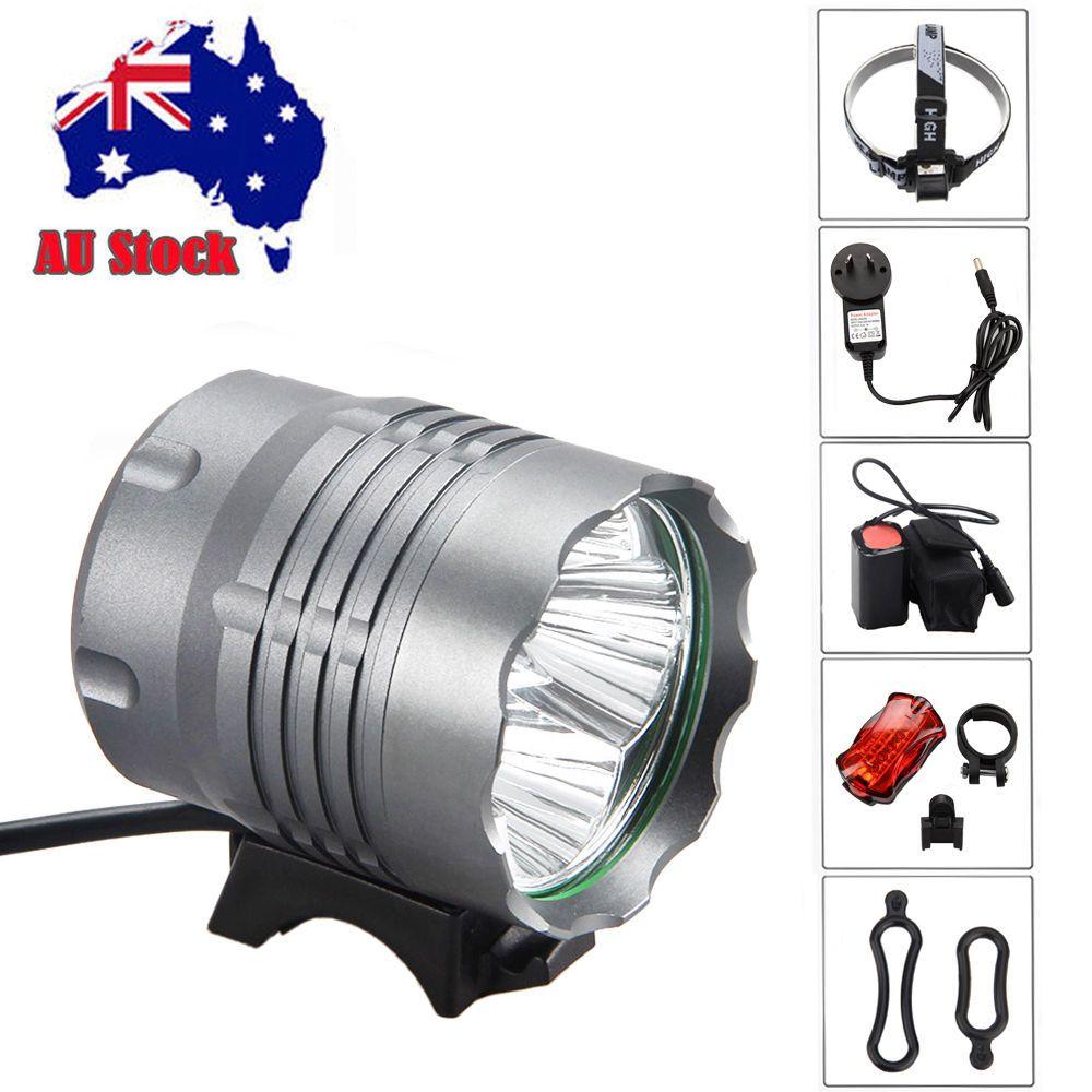 MTB Bike T6 LED Front Light Bicycle Night Cycling Headlamp Headlight 3Modes Lamp