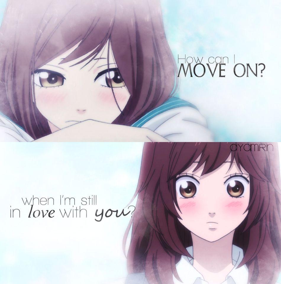 Ao Haru Ride Quote Yoshioka Futaba Anime Life Anime Love Quotes Best Romance Anime