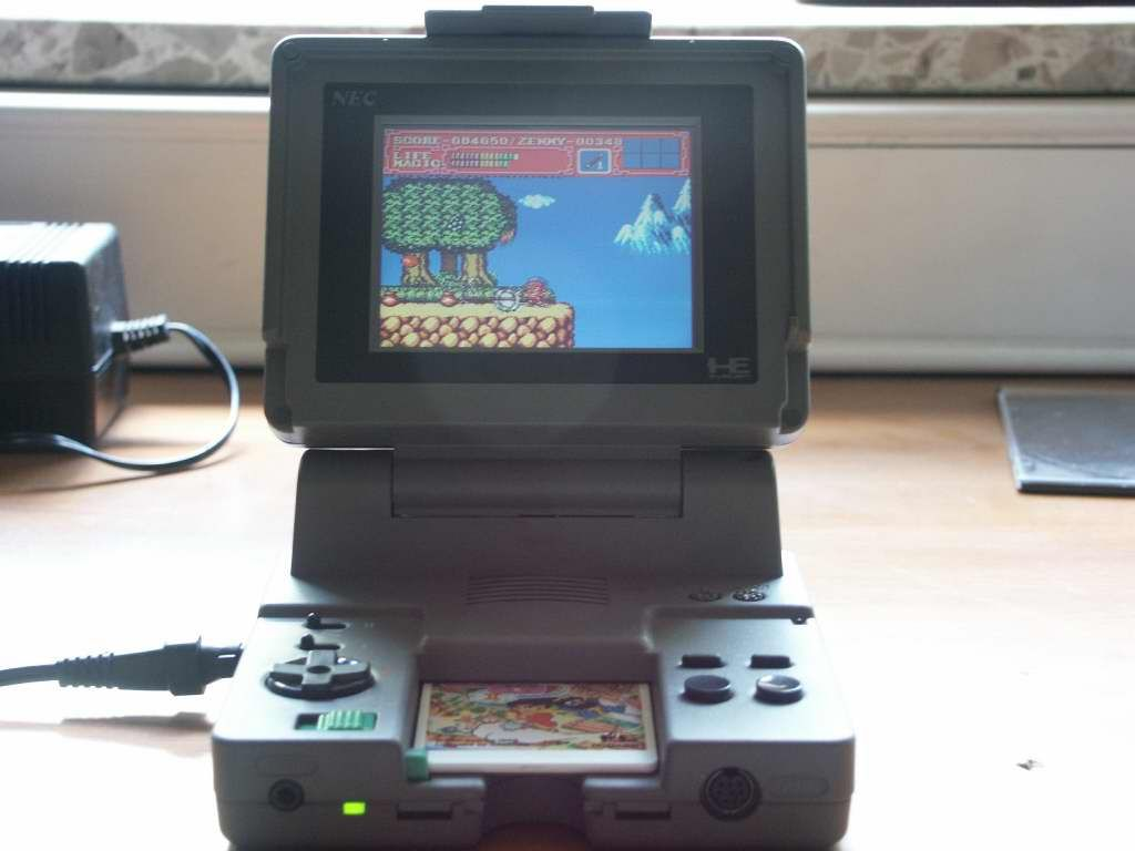 The PC-Engine LT - A semi-portable PC Engine released in