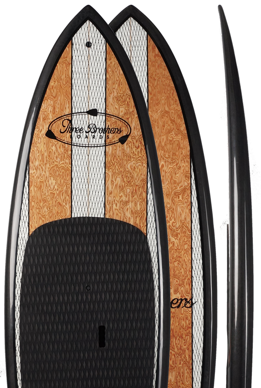 Buy Wood Stand Up Paddle Boards Online Three Brothers