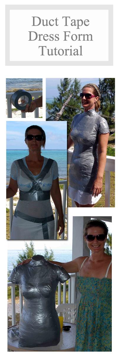 My DIY Duct Tape Dress Form | Pinterest | Expanding foam, Dress form ...