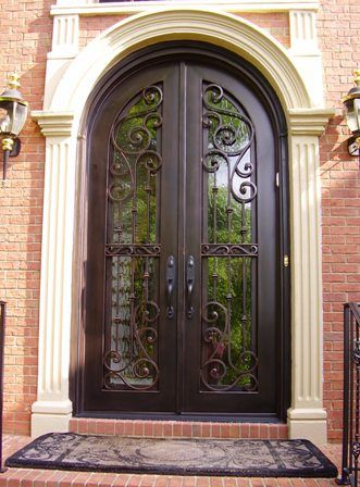 Door Replacement After | Mis Puerta | Pinterest | Door Replacement, Doors  And Iron