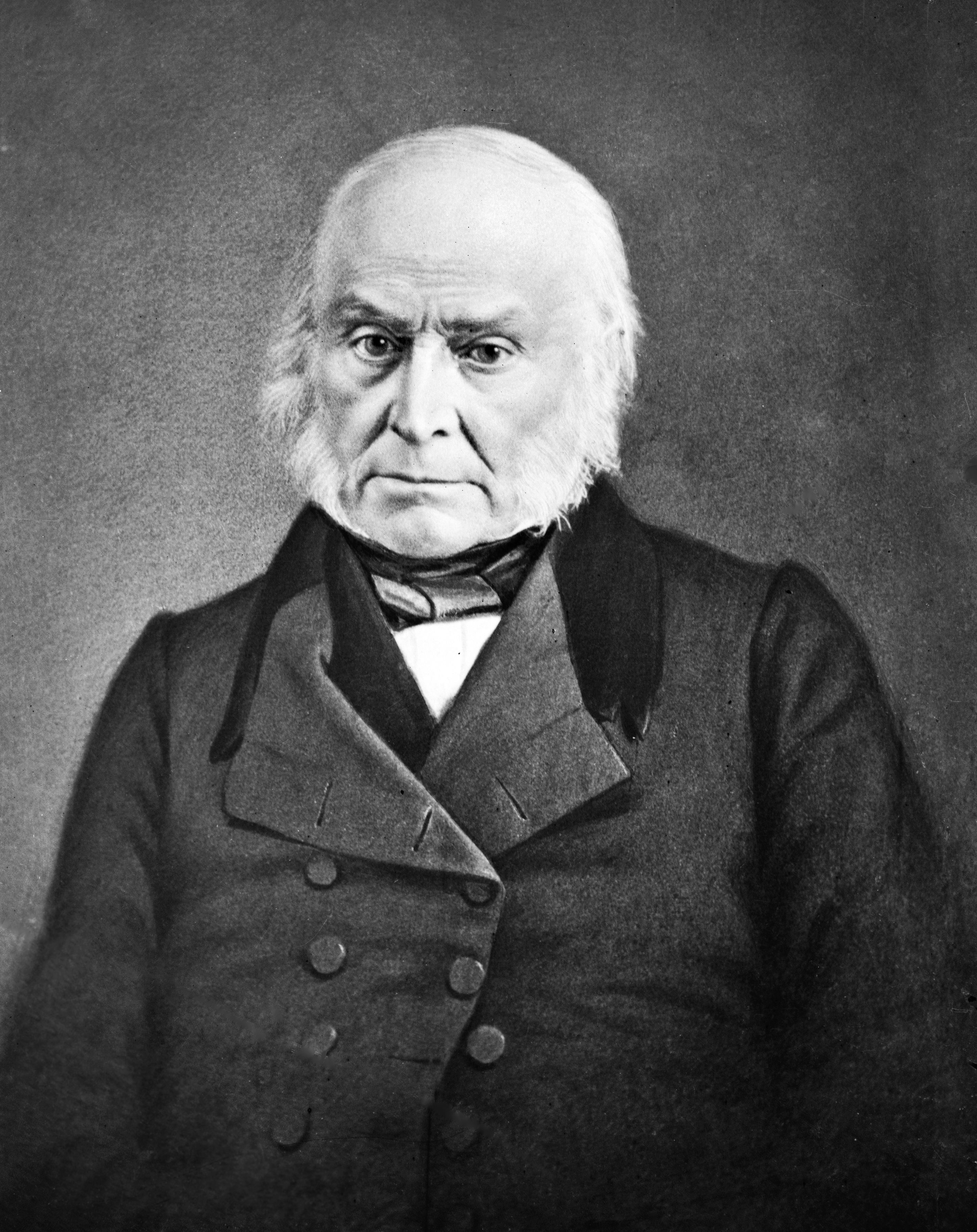 john quincey adams portait | 6th President of the United States