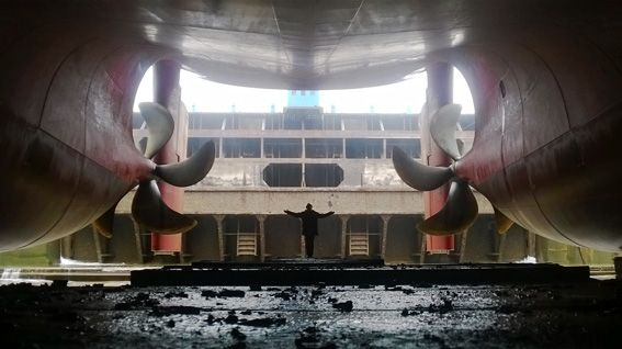 Damen shiprepair brest chouage en forme de radoub port de brest pinterest brest forme - Chambre de commerce de brest ...