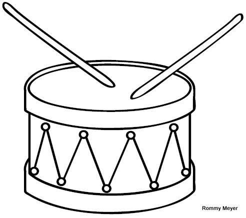 Tambor Dibujos De Instrumentos Musicales Instrumentos De Percusion Instrumentos Musicales