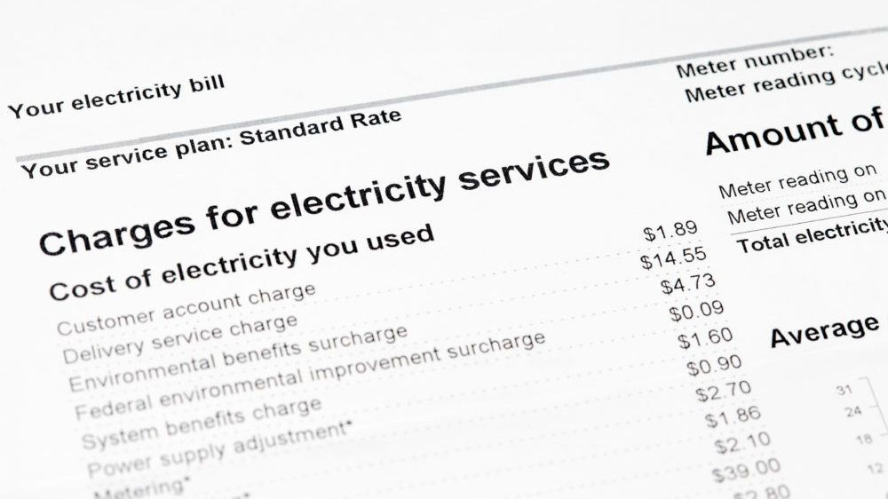 The next time the monthly utility bills arrive, resist the