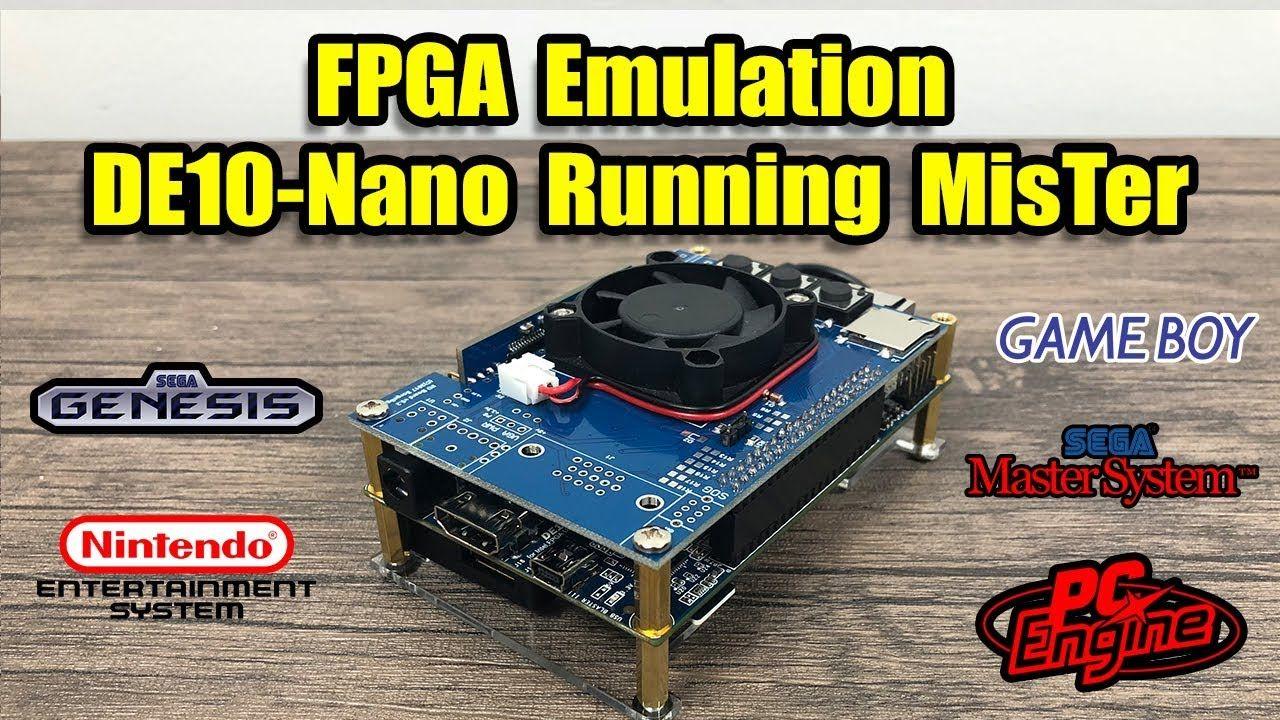 Liked on YouTube: FPGA Emulation MisTer Project On The Terasic DE10