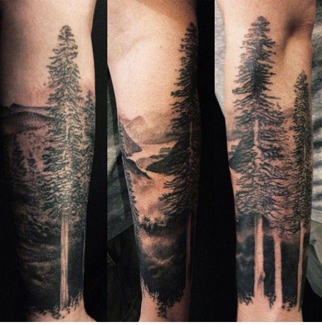 13 forearm forest tattoos tatoo pinterest. Black Bedroom Furniture Sets. Home Design Ideas