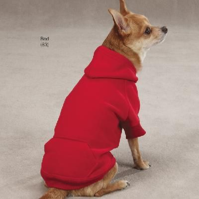 Casual Canine® Basic Dog Pet Hoodies - Light Pink XL