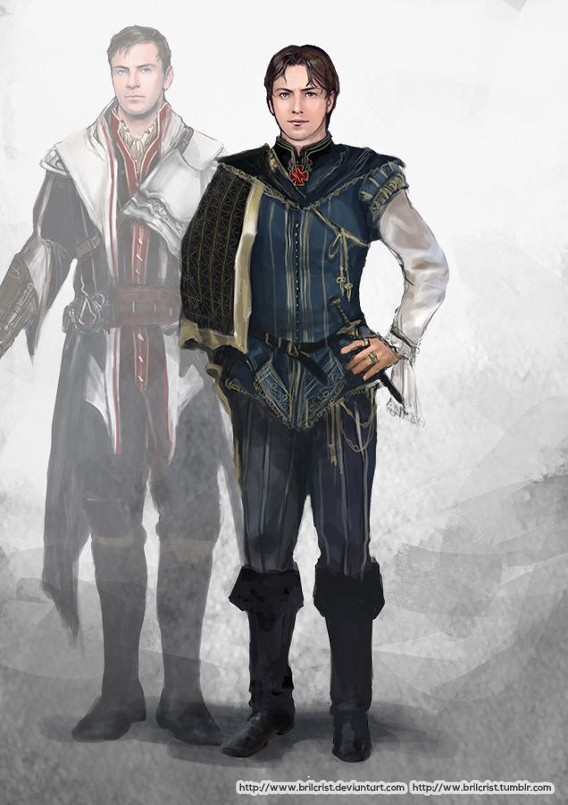 Fan Concept Art Of Michael Fassbender As A Young Ezio In