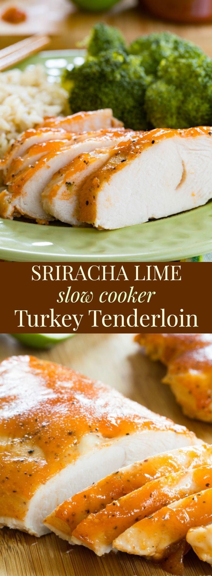 Photo of Sriracha Lime Slow Cooker Turkey Breast Tenderloin Recipe