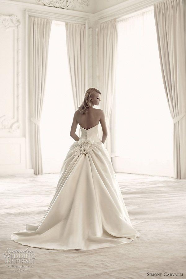 Simone Carvalli Wedding Dresses | Wedding, Bustle and Wedding dress