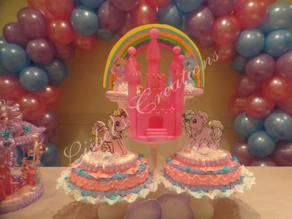 my little pony kid's party
