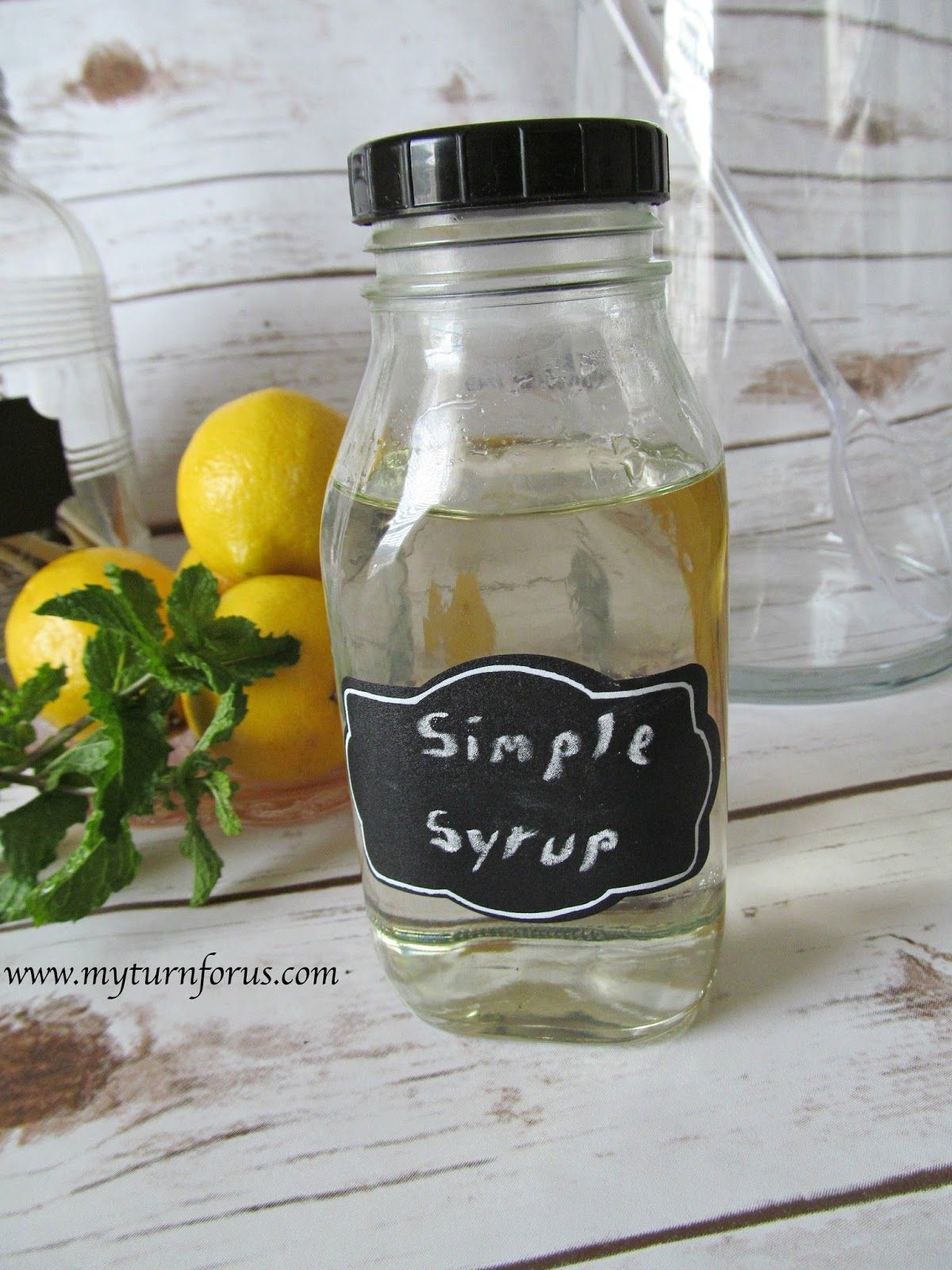 Simple Syrup #sparklinglemonade