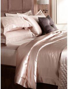 Beau Www.gingerlily.co.uk Nude Silk Bed Linen